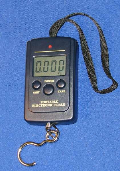 Портативный безмен (весы), точность 10г, макс. вес 40кг