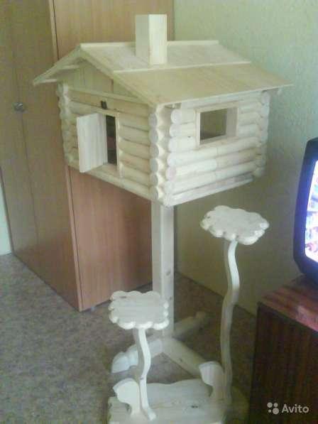 Домик для кота - избушка на курьих ножках