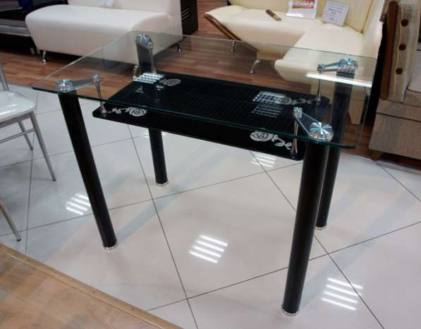 Стеклянные столы и стулья! в Москве фото 4