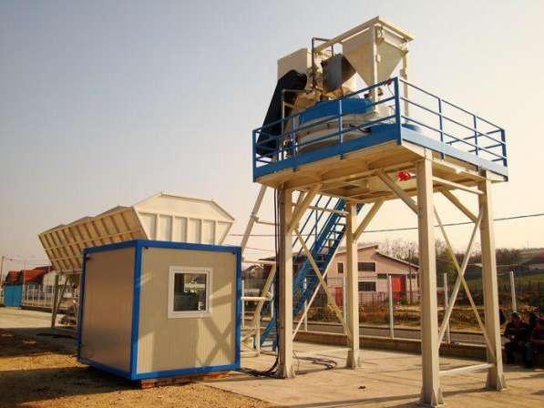 Cтационарный бетонный завод, рбу, бсу 60-70м3/ч