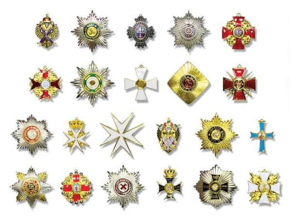 Продается коллекция копий орденов Российской Империи