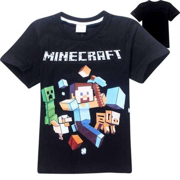 Футболка новая Minecraft в ассортименте