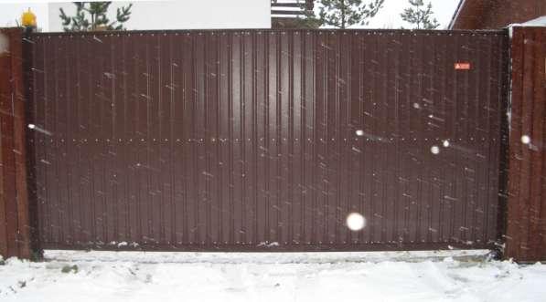 Ворота откатные 4000*2000 мм