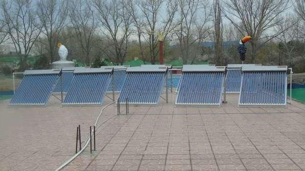 Солнечный водонагреватель для гостиницы