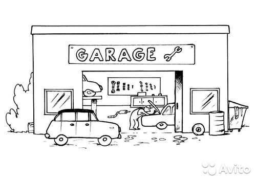 сдается гараж