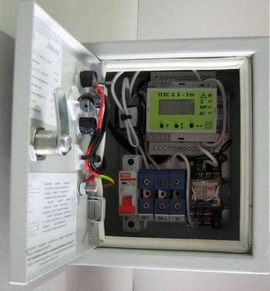 Прибор ограничения мощности, защиты однофазной сети ПЗС 23-1