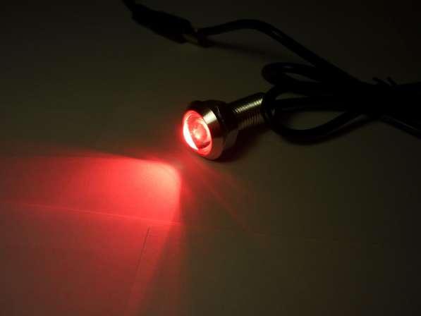 Светодиодные огни 18мм красный свет