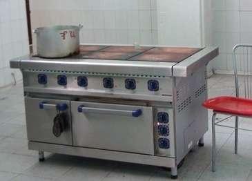 Плита электрическая с жарочным шкафом эп-6жш