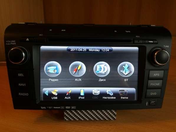 Штатная автомагнитола для Mazda 3, AXELLA