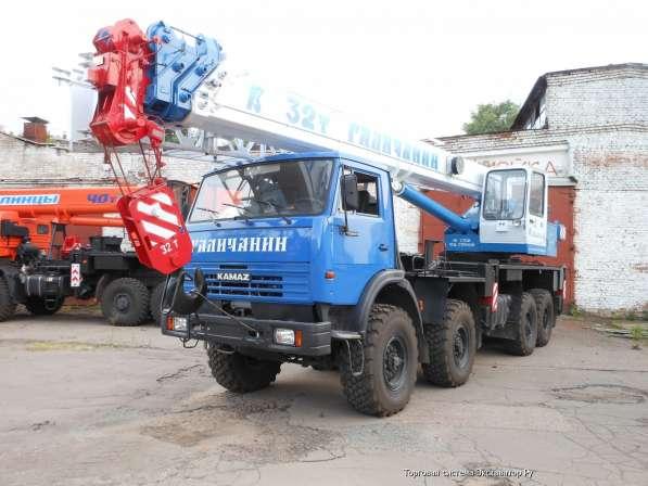 Аренда автокрана 32 тонны 30 метров ВЕЗДЕХОД