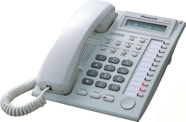 KX-T7730RU - аналоговый системный телефон Panasonic (4-пр.)