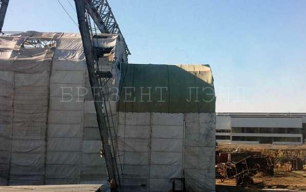 Укрытия на крупные строительные объекты