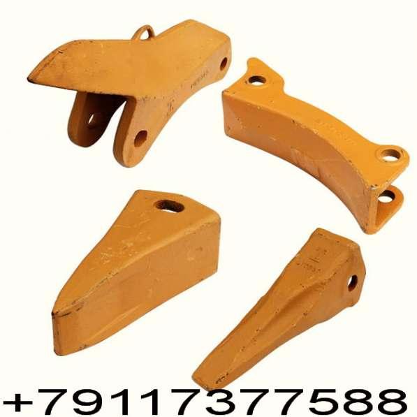 Элементы оснастки ковшей и рыхлителей экскаваторов