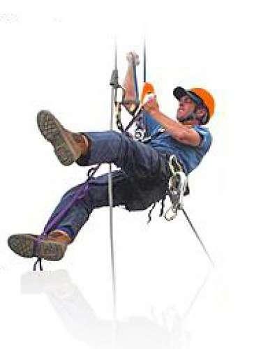 промышленный альпинист