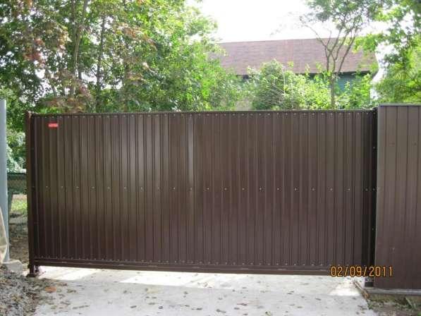 Откатные ворота 3,5*1,7 м