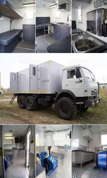 Подъемник самоходный на базе КАМАЗ 43114