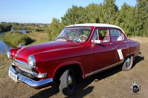 Прокат авто ретро Волга ГАЗ -21 на свадьбу и не только в Новосибирске фото 6