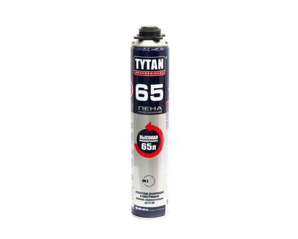 Пена монтажная профессиональная Tytan