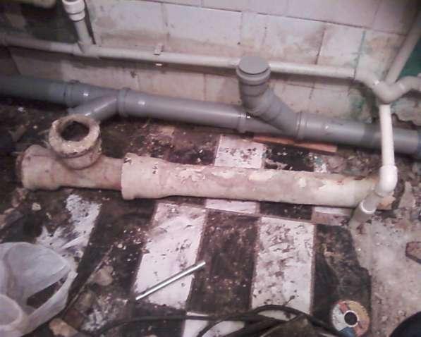 монтаж труб канализации в квартире тел. 8-922-603-75-84