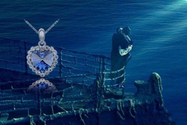 """Титаник"" Кулон с цепочкой ""Сердце"""