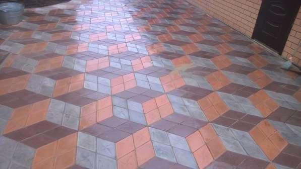 Тротуарная плитка Брусчатка Бордюры