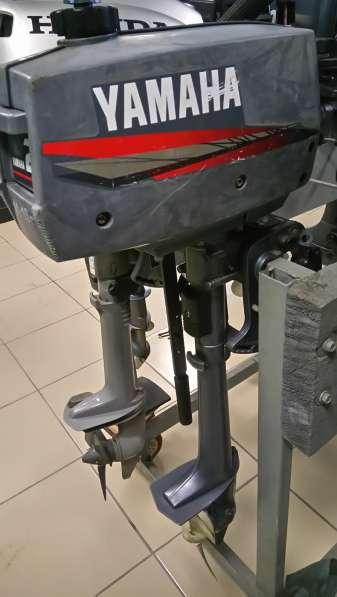 Продам лодочный мотор YAMAHA 2, нога S (381мм), встроенный