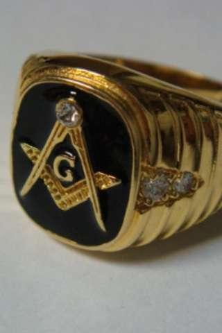 Перстень масонский
