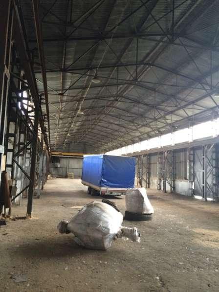 Производственно-складское здание холодное из профнастила.