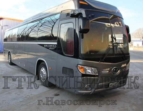 Заказ, аренда, прокат автобуса 45мест в Новосибирске