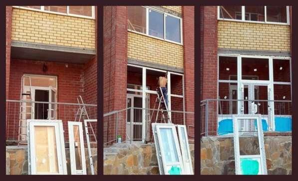 Окна, двери,балконы,перегородки в Екатеринбурге фото 3