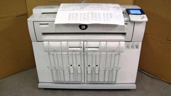 чёрно-белое копирование, сканирование и распечатки чертежей больших форматов, вплоть до А1 и А0.