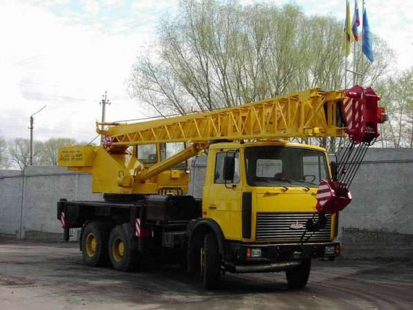 Аренда автокрана 32 тонны 30 метров