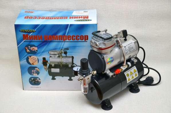 Миникомпрессор FENGDA max pressure 6 BAR