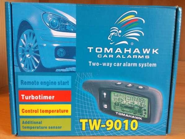 Сигнализация TOMAHAWK TW9010, запуск.