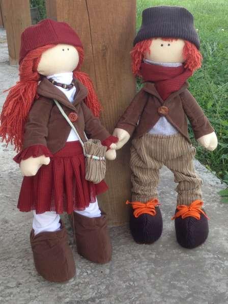 Интерьерная кукла ручной работы-оригинальный подарок