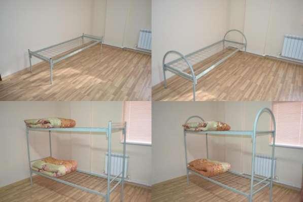 Кровати металлические одноярусные и двух ярусные с доставкой