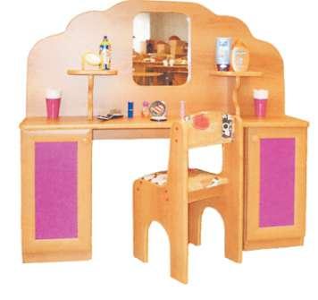 Игровая парикмахерская (мягкий стул, зеркало) Б-9