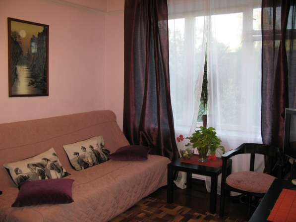 Однокомнатная квартира посуточно в Невском районе без посред