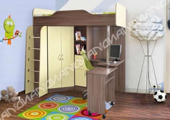 Кровать-чердак Бриз