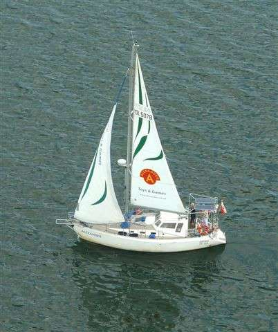 Яхта морская - крейсерский швертбот PEGAZ 969