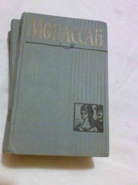 Полное собрание сочинений Ги де Мопассана в 12 томах.