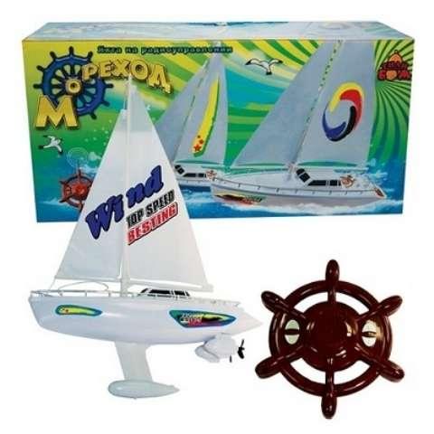 Лодка-Яхта на радиоуправлении Тилибом