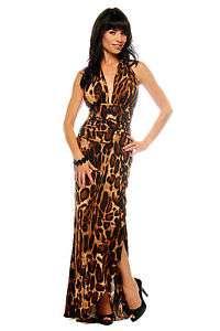 Новое Вечернее Клубное Леопардовое Платье Из Голливуда