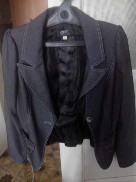 костюм женский джинсовый