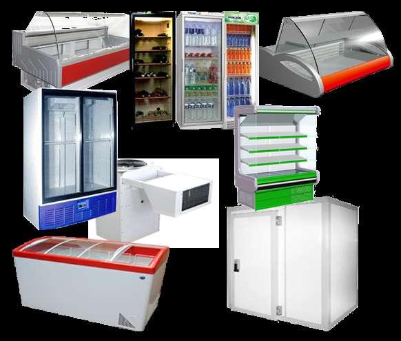 Холодильное оборудование, камеры, шкафы, витрины