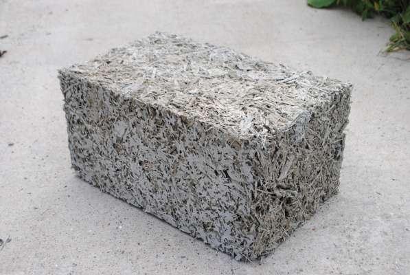 арболитовые блоки 300х250х500