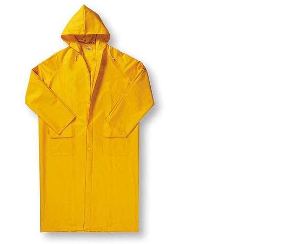 Плащ дождевик водонепроницаемый (цвет-желтый)