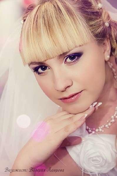 Свадебный макияж, прическа на дом в Челябинске фото 17
