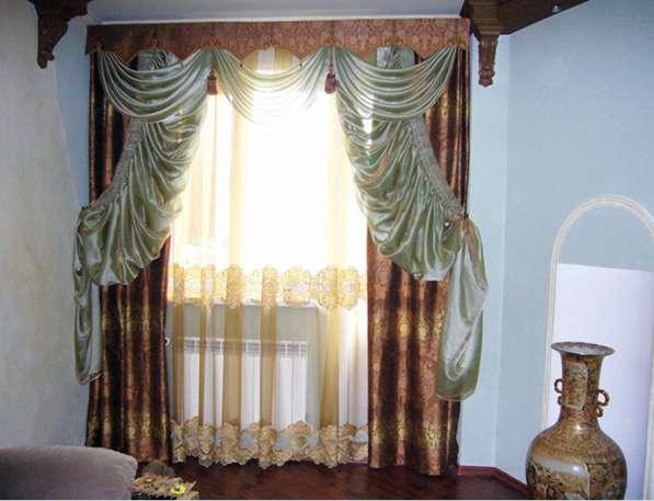 Роскошные шторы в восточном стиле