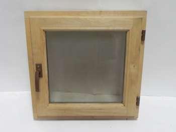 Окна для бани из дуба